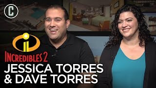 Incredibles 2 Animators Jessica & Dave Torres Reveal How Their Personal Lives Influenced Film