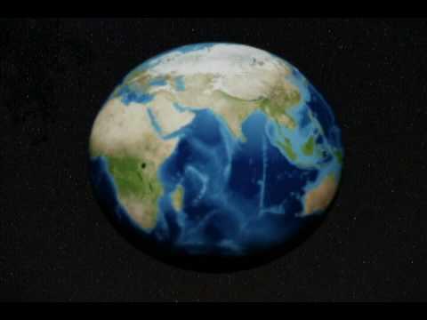 3d globe spinning youtube
