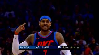 Carmelo anthony highlights 22pts vs golden state warriors 23 11 carmelo anthony mix jumpshot in oklahoma city thunder 2017 2018 post malone ft savage 21 rockstar voltagebd Choice Image