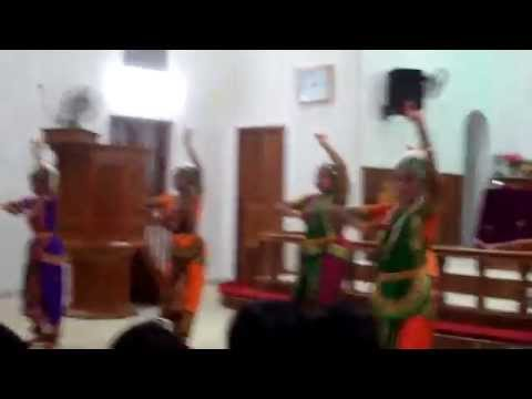 Tamil christmas classical dance