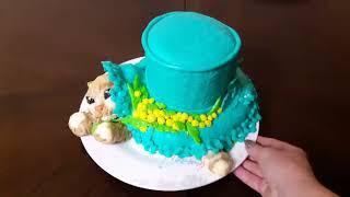 Торт - кот под шляпой