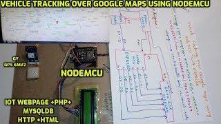 esp8266 adafruit io map using ublox gps nodemcu tutorial