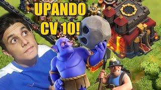 O Que Estou Upando no Meu CV 10 no Clash Of Clans