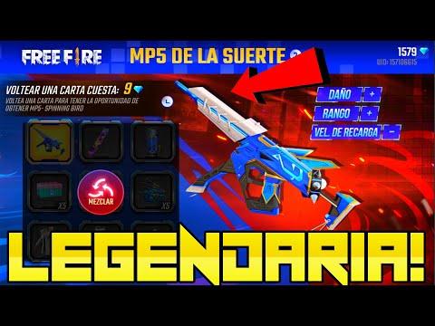 EN BUSCA DE LA NUEVA MP5 SPINNING BIRD DE FREE FIRE!! LA MAS CHETADA DE TODAS? *Muy Epico*