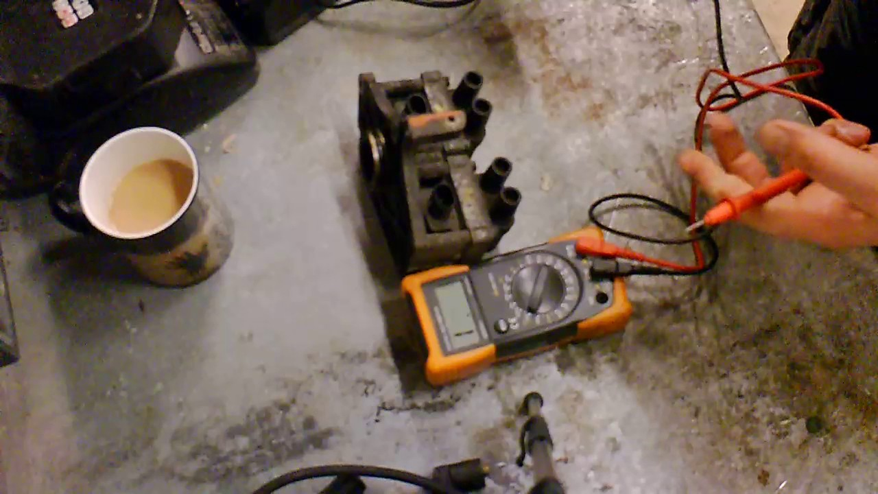 hight resolution of fiat punto ignition coil pack testing