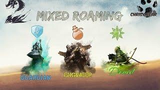 GW2 WvW Mixed Roaming (Rifle Engi/Vanilla Guard/Melee Druid)