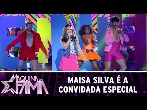 Máquina da Fama (27/06/16) Maisa Silva é a convidada da noite