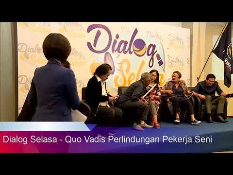 Dialog Selasa - Quo Vadis Perlindungan Pekerja Seni