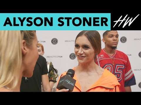 Alyson Stoner Talks Inner Beauty and her Beautycon Panel!   Hollywire