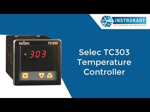 Selec TC303 Temperature Controller - YouTube on
