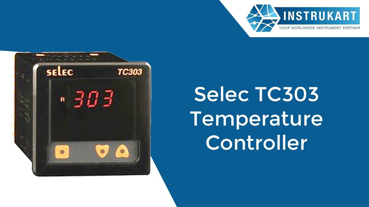 Selec TC303 Temperature Controller on