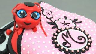LADYBUG Tikki Purse Cake   How to make by CakesStepbyStep