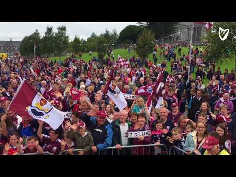 WATCH: Crowds gather in Ballinasloe for historic Galway homecoming