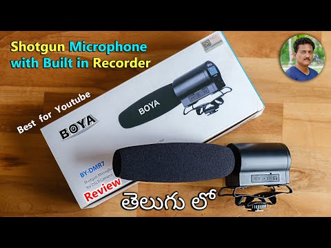 Boya Budget Microphone & Voice Recorder Best For Youtube Videos & Beginners 🔥