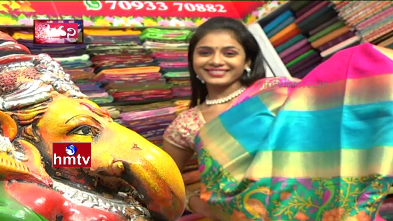 15c7d45e75 Low Cost Latest Indian Wedding Sarees | Vijaya Brothers Silks | Sogasu  Chooda Tarama | HMTV Avani