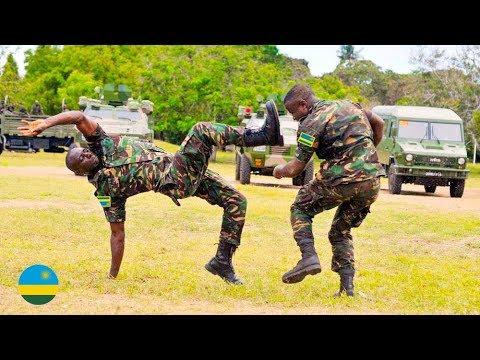 RWANDA Special FORCE Death Training:  RDF Unbelievable Training: Special Army Battle