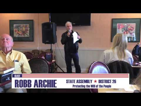 Conservative Talk Lunch - Robb Archie For Nevada Assembly #AD26