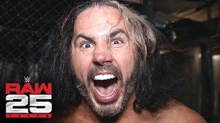 Matt Hardy aims to make Bray Wyatt obsolete at Royal Rumble: Raw 25 Fallout, Jan. 22, 2018