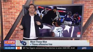 Good Morning Football: Meet These Men - Peter Schrager On Titans Offensive Line