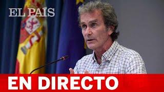 DIRECTO #COVID   FERNANDO SIMÓN ofrece los ÚLTIMOS DATOS de la PANDEMIA en ESPAÑA