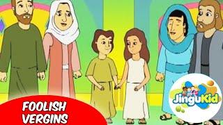 Best Bible stories for kids | The Foolish Virgins | Animation | Preschool | Kids | Kindergarten
