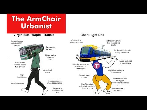 Why Light Rail is better than Bus Rapid Transit - The Armchair Urbanist