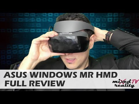 Asus Windows Mixed Reality VR Headset Full Review: Good Looks & High Quality