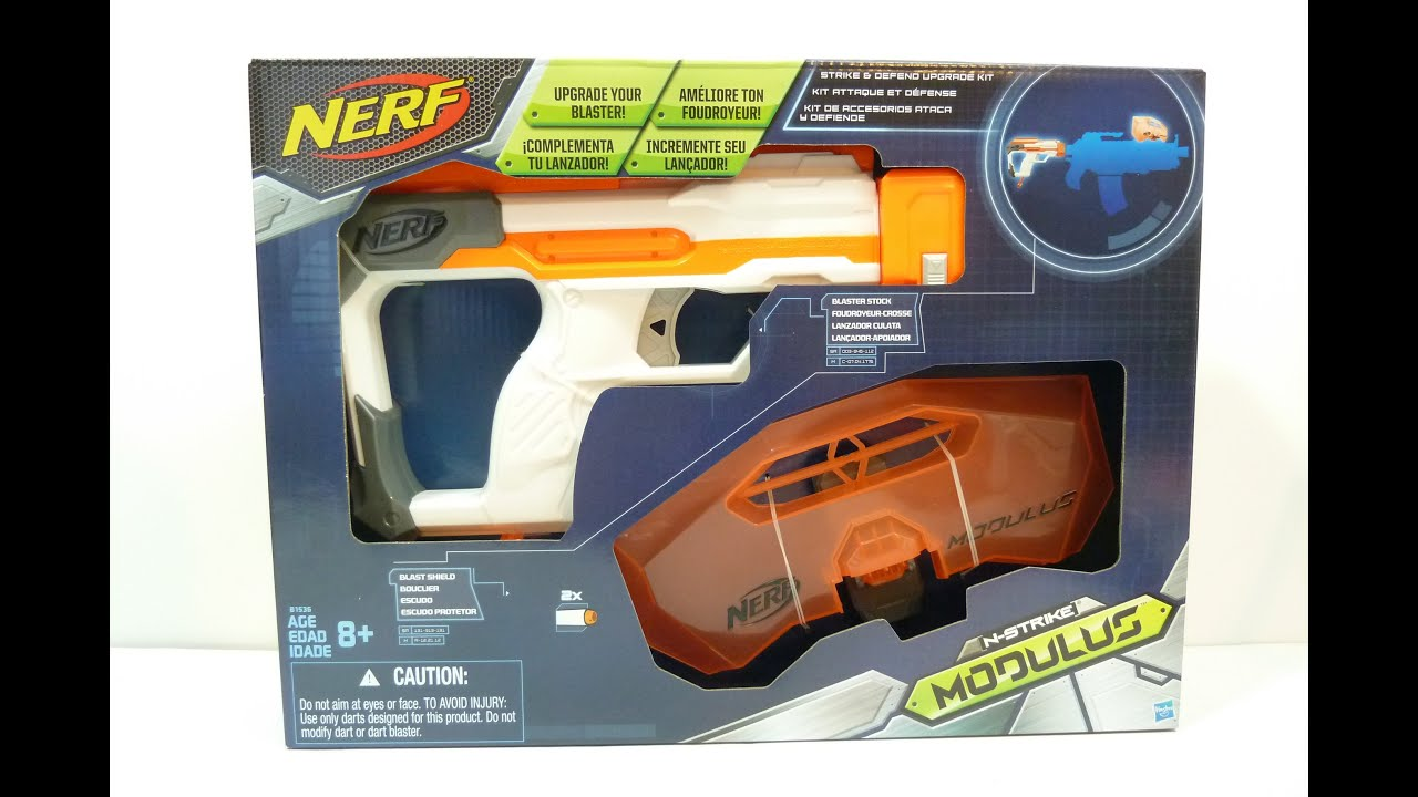 NERF Modulus Strike and Defend Upgrade Kit review