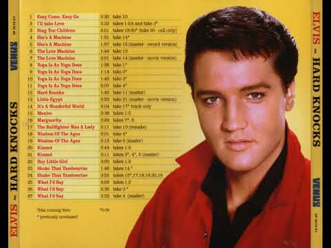 Elvis - Hard Knocks (Full Bootleg CD)