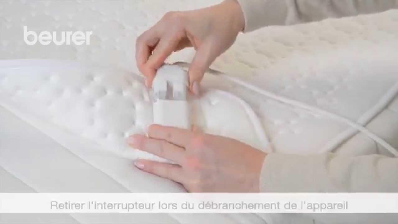 Quick Start Vidéo Du Chauffe Matelas Ub 33