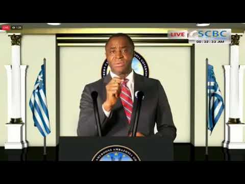 H.E Sisku AyukTabe  address Southern Cameroons on their restoration