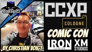 CCXP Colgne Comic Con Event Tour 2019 ~ Iron Studios   XM Studios & MORE!!