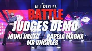 Ibuki Imata - Kapela Marna - Mr Wiggles | Judges | All Styles Battle | Fair Play Dance Camp 2018