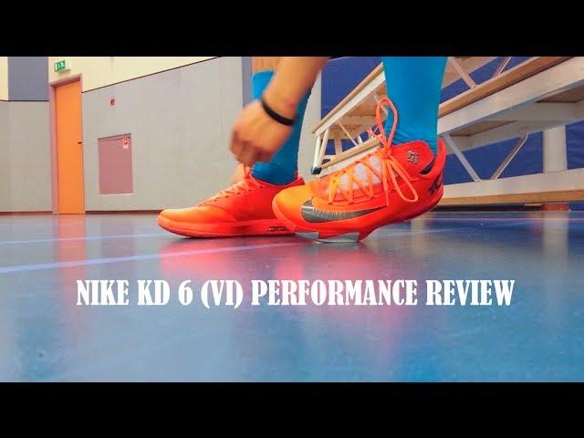 brand new e9339 68d4e Nike KD 6 VI Performance Review   Kicksologists.com