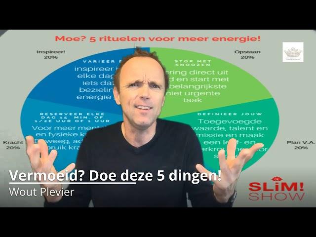 Vermoeid, doe deze 5 dingen!