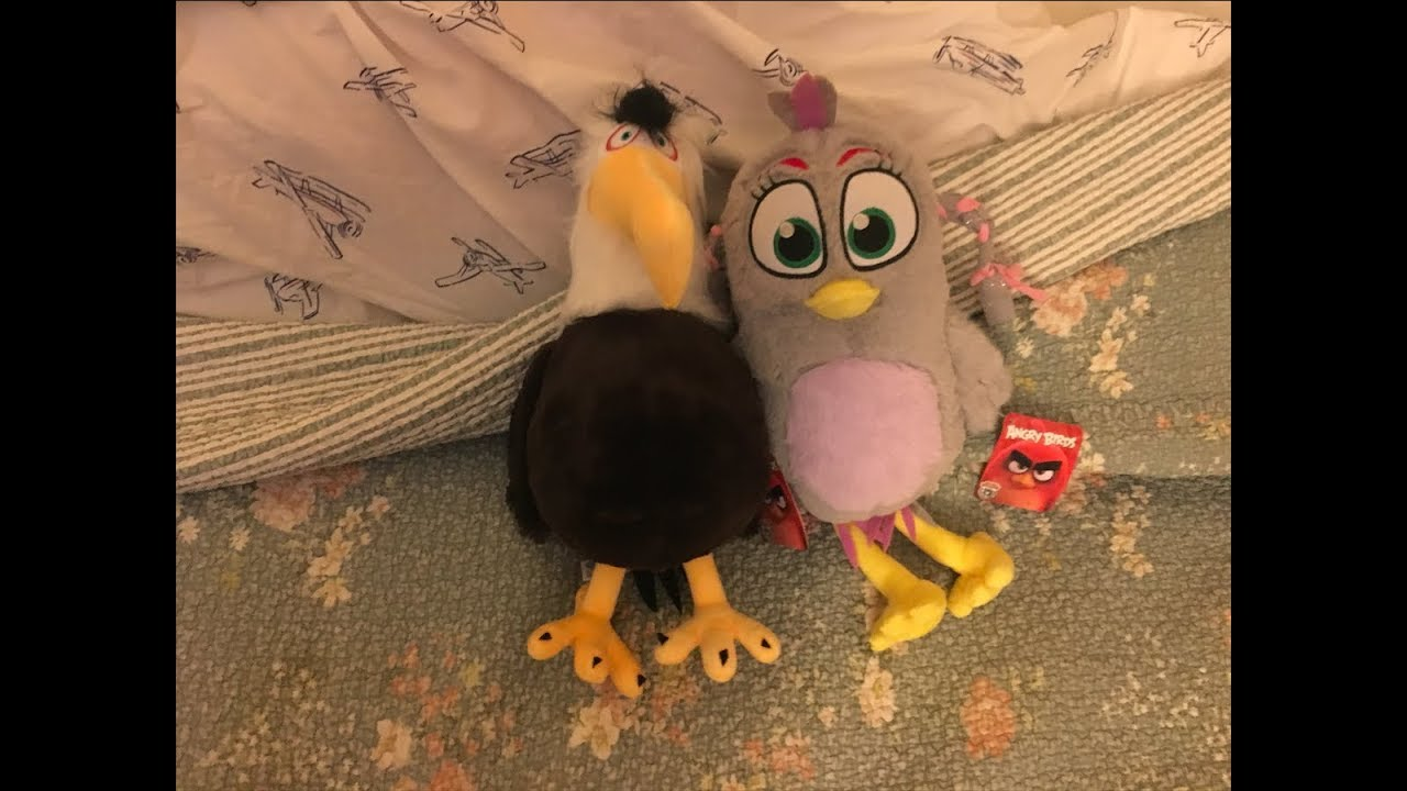Unboxing 2019 Angry Birds Movie 2 Mighty Eagle And Silver Plush