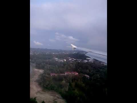 Royal Brunei Airlines landing