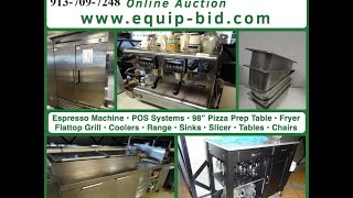 Equip-bid.com - Mirth Restaurant Liquidation Video