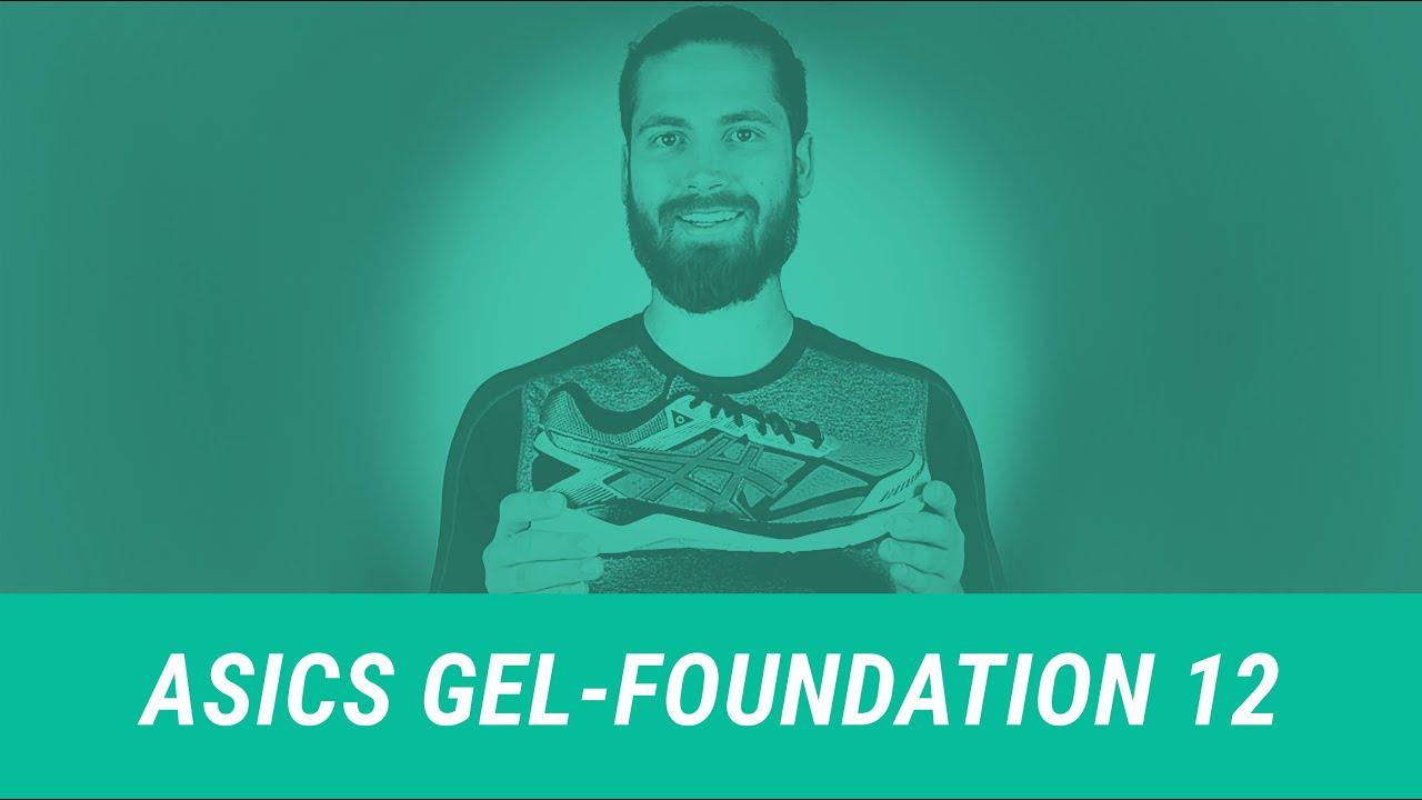 asics gel foundation 12 2015