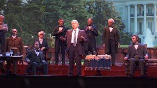 Disney's Hall of Presidents unveils eerily lifelike Donald Trump