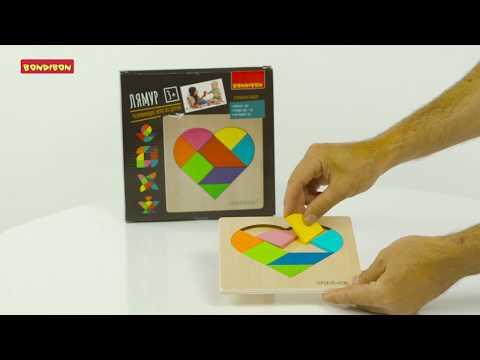Развивающие игры из дерева: головоломки «Зигзаг», «Лямур», и «Зоопарк» от BONDIBON