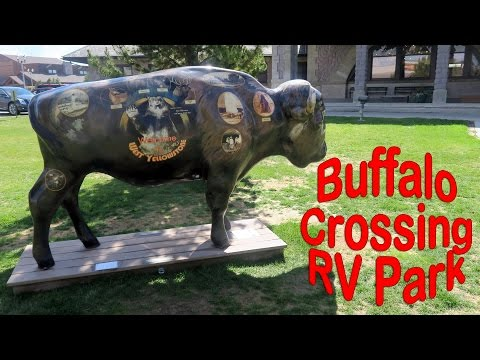 Buffalo Crossing RV Park West Yellowstone Montana - Full Time RV Travel