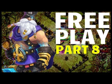 Castle Clash: Free Play 8 - HBM A + Thunder God