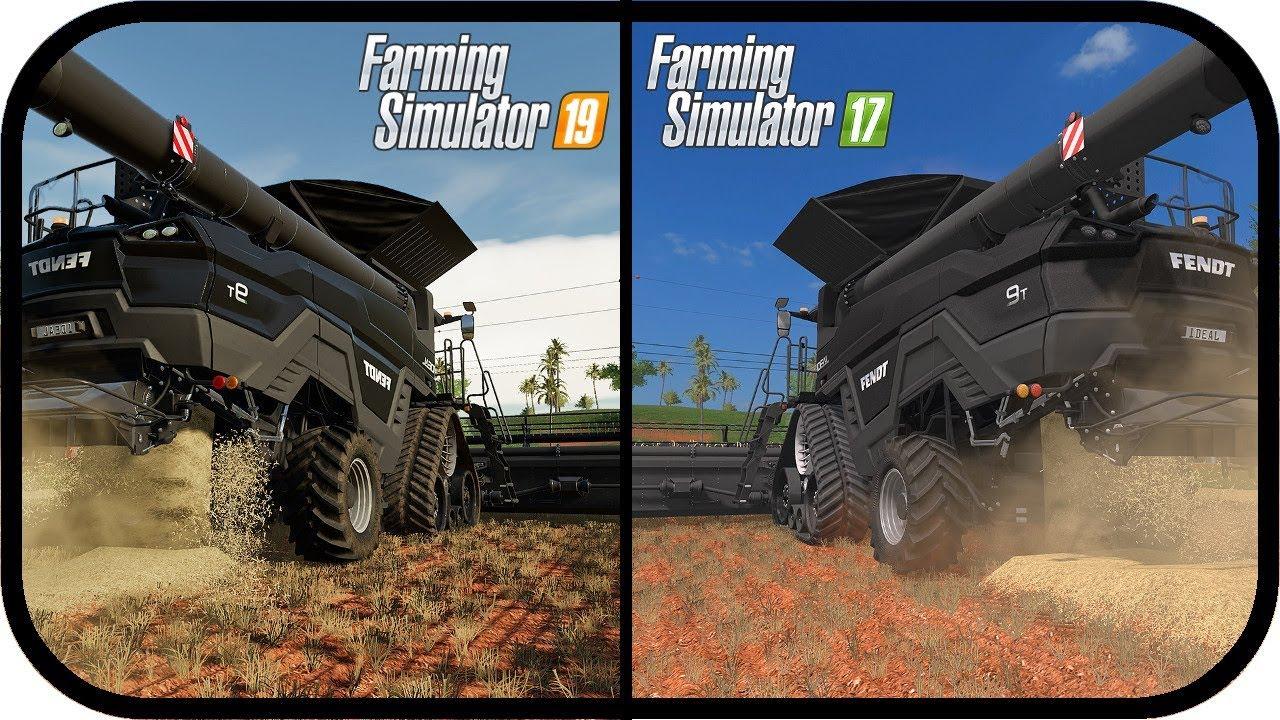 Ls19 News Grafik Vergleich Ls17 Zu Ls19 Das Wird Sich Verbessern Landwirtschaft Simulator