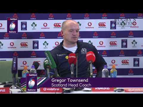 John Barclay and Gregor Townsend post-Ireland match | NatWest 6 Nations