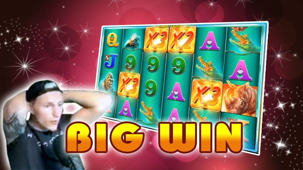 Raging Rhino Slot 700x GEWINN + Book of Dead Bonus Spiel - TopBiggestWin