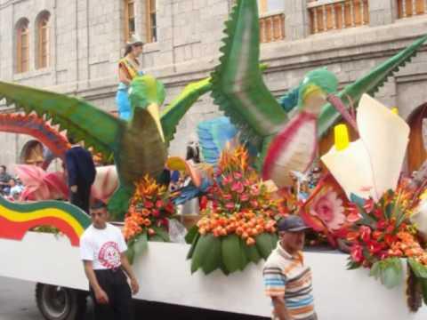 Fiesta de las flores y de las frutas 2010 youtube - Carro de frutas ...