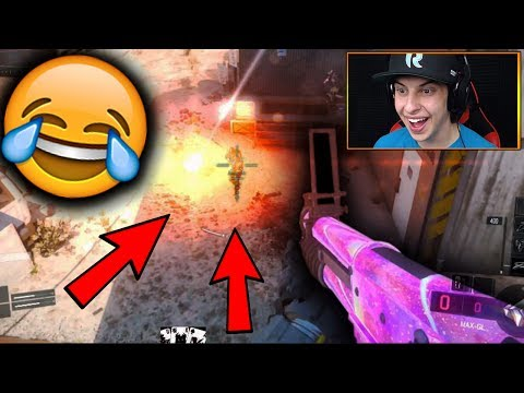HOW TO BE AN A$$HOLE IN BO3!! (NEW DLC WEAPON FUN)