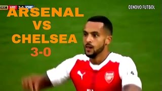Arsenal vs Chelsea 3-0 All Goals and HIghlights ● 24/09/2016