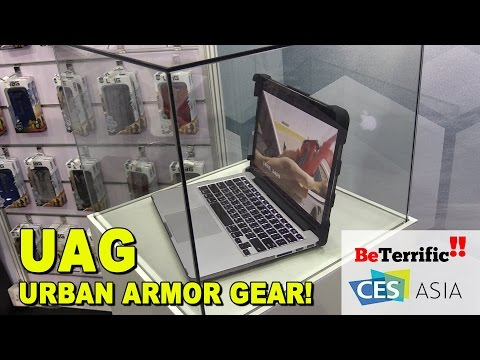 UAG Urban Armor Gear at CES Asia 2016